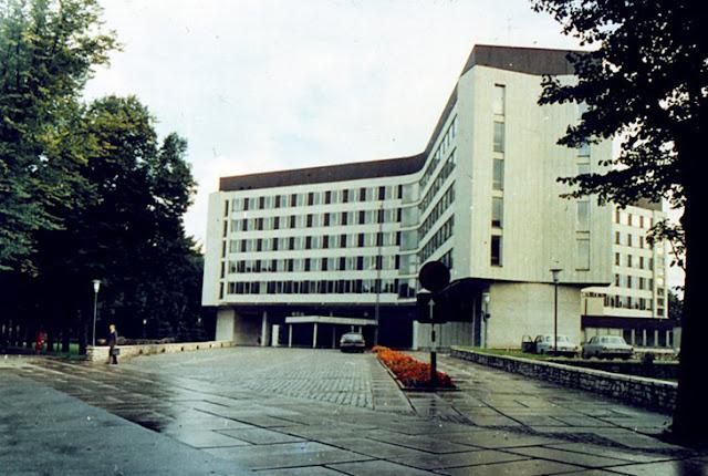 Здание ЦК Латвийской ССР