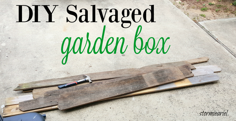 Salvaged Garden Box