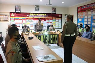 Lat Pra Ops Ketupat Dermaga 2021, Polres Pelabuhan Makassar