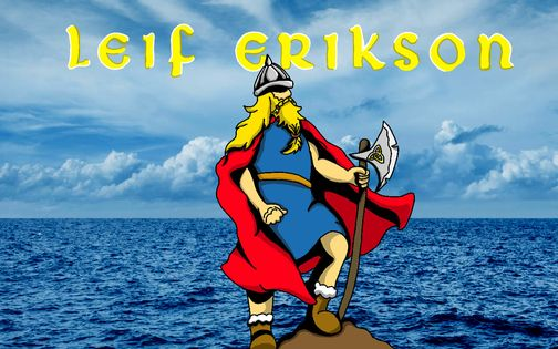 Leif Erikson Day Wishes Awesome Picture