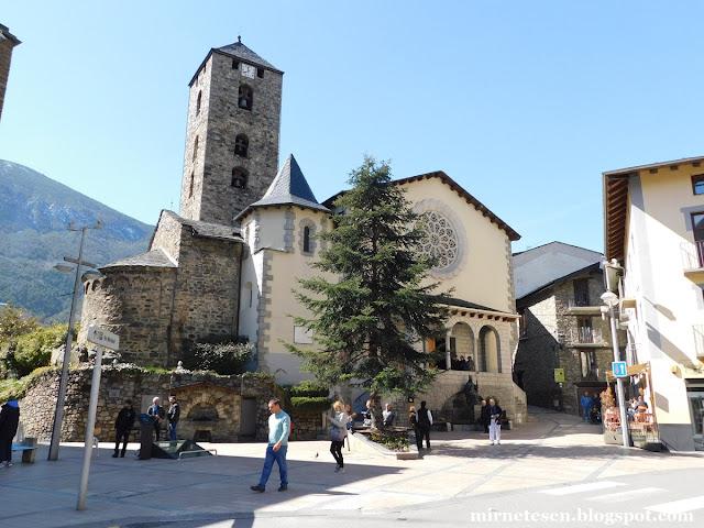 Андорра-ла-Велья - Церковь Святого Стефана