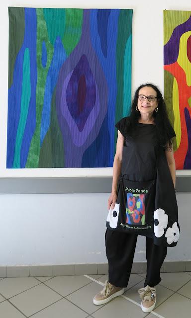 Paola Zanda exhibition at Aigu'illes en Luberon festival 2019