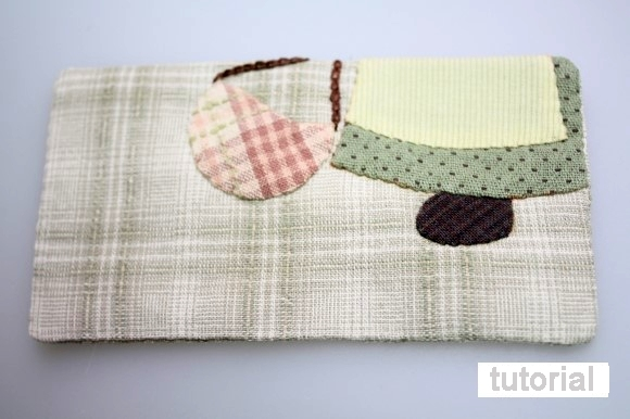 Zipper Wallet. Patchwork Sewing Projects.