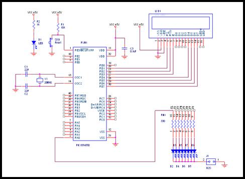 BugWorkShop - 甲蟲工作室: DIY - PIC: PIC18F4550 Software Clock 電路 (三十四)