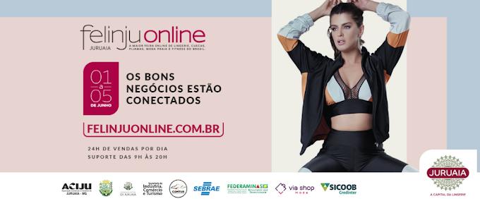 Felinju 2020: uma das principais feiras de moda íntima e de negócios do país será 100% online