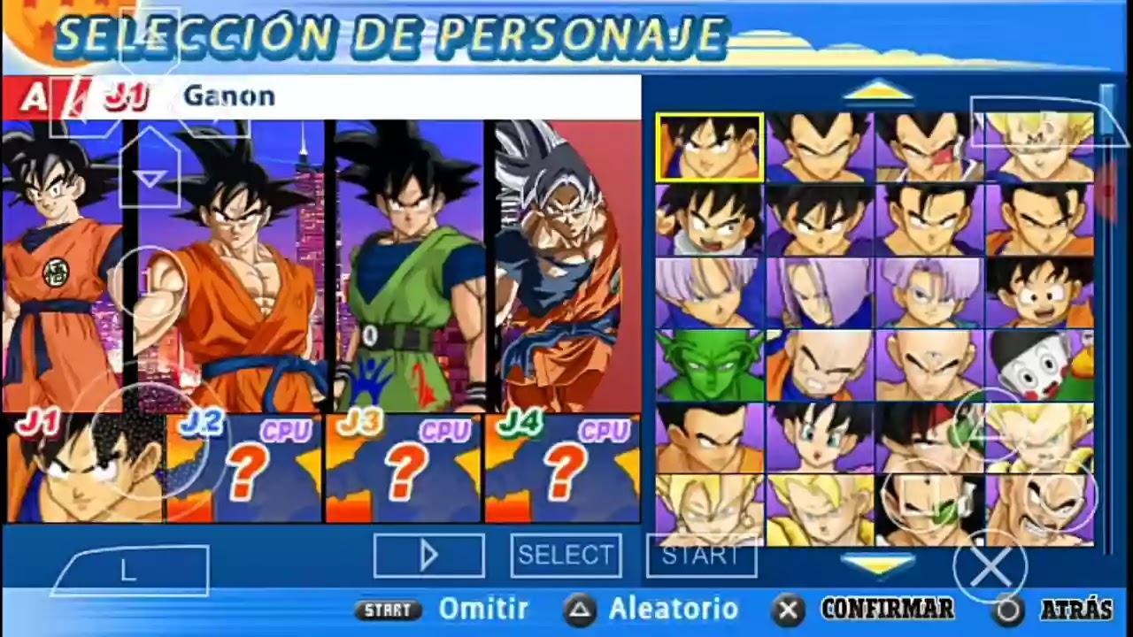 Dragon Ball Z Tenkaichi Tag Team Mod 2020