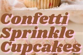 Confetti Sprinkle Cupcakes