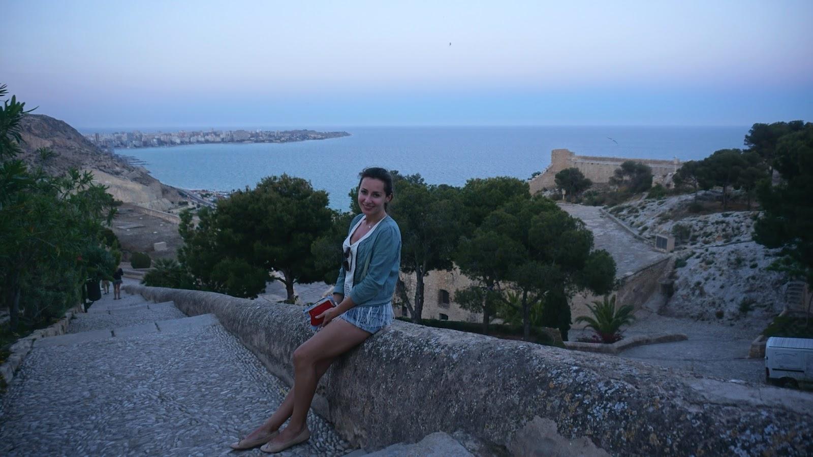 Castillo de Santa Bárbara, atrakcje Hiszpanii, Alicante, Costa Blanca