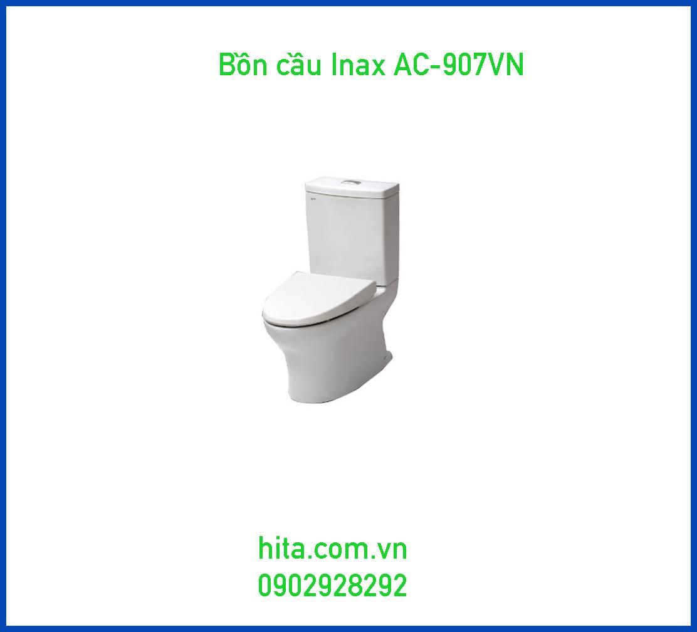 Giá, đặc điểm, kích thước bồn cầu Inax AC-907VN