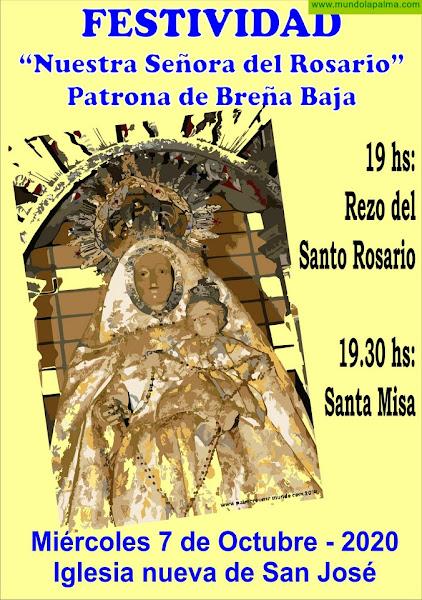 BREÑA BAJA: Día de la Patrona y Fiesta Local del municipio