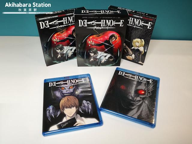 Review de DEATH NOTE .Serie completa en Blu-Ray Disc - SelectaVisión