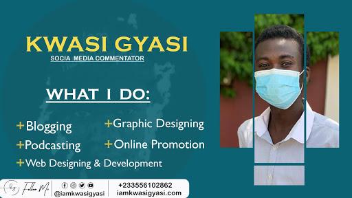GET TO KNOW KWASI GYASI