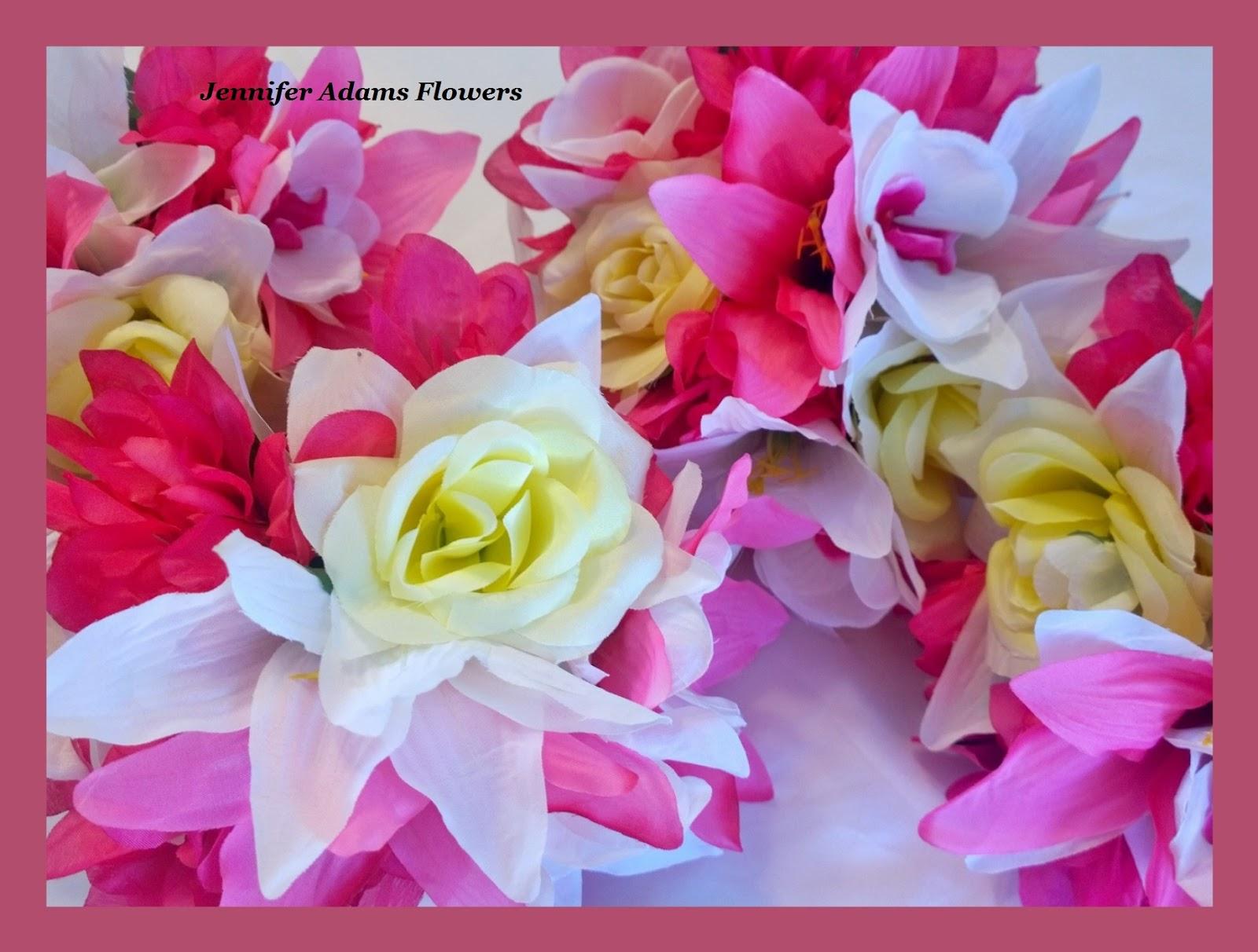 Jennifer Adams Flowers 17 Pc Wedding Package Lilies Dahlias Roses &