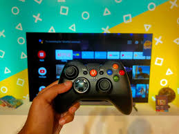 Motorola gamepad with android tv