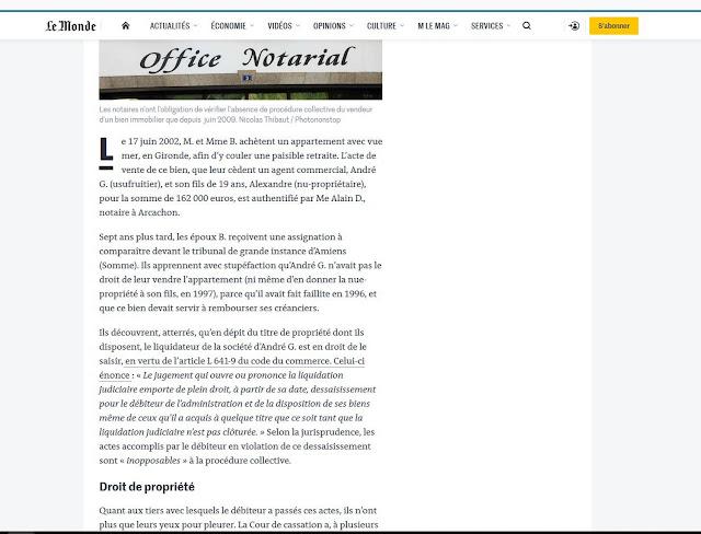 frederic ducourau dans Notaire Pénal