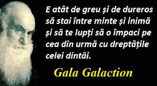 Maxima zilei: 29 aprilie - Gala Galaction