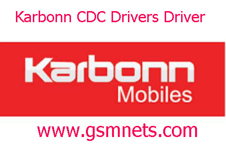 Latest Karbonn CDC Driver Download