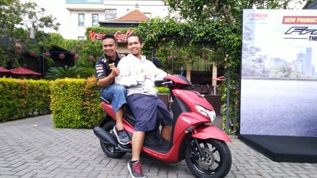 Yamaha FreeGo 125 Indonesia