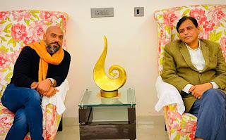 केंद्रीय गृह राज्यमंत्री नित्यानंद राय से मिले ब्रावो फार्मा के चेयरमैन राकेश पांडेय, औद्योगिक राज्य बनेगा बिहार