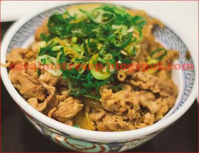 Foto Resep Gyudon Beef Bowl Ala Yoshinoya Buatan Sendiri Sederhana Spesial Halal Pedas Asli Enak