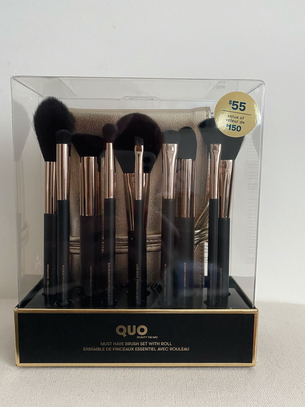 Quo Beauty Must Have Brush Set