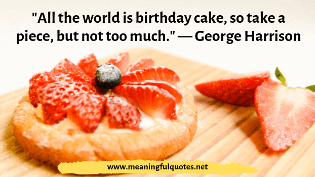 happy birthday cake quotes