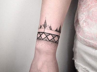 Disenos De Brazaletes Para Tatuar - Tatuajes-de-brazaletes-para-el-brazo