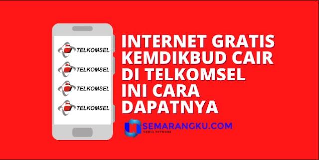 Cair Akhir Bulan Ini, Cara Dapat Kuota Internet Gratis Kemdikbud di Telkomsel, Pastikan Nama di Sini