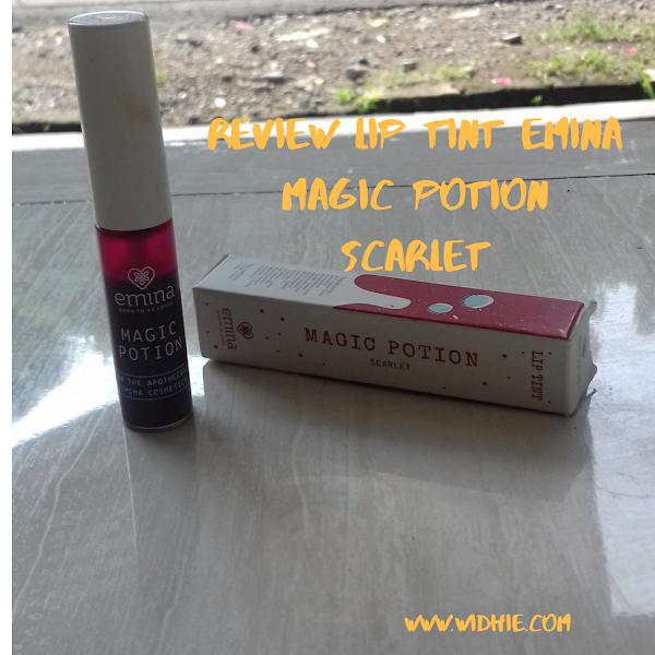 Lip Tint Emina Magic Potion Sarlet