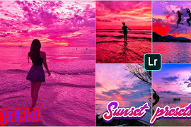 Preset Xmp Lightroom Sunset Dan Sunrise Terkeren