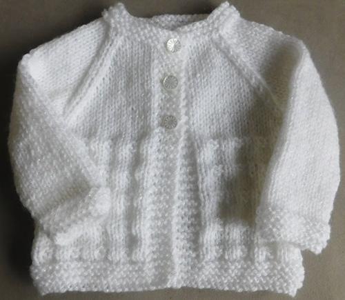 Charlie Baby Cardigan Jacket - Free Pattern