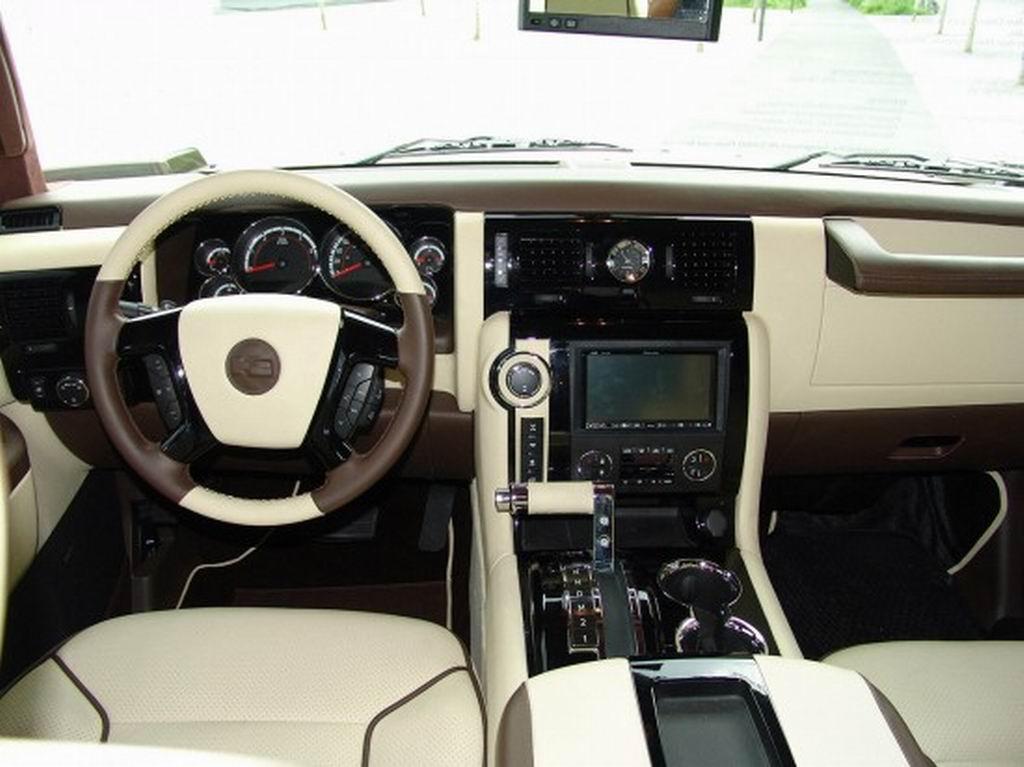 2009 Geigercars Hummer H2 Latte Macciatto