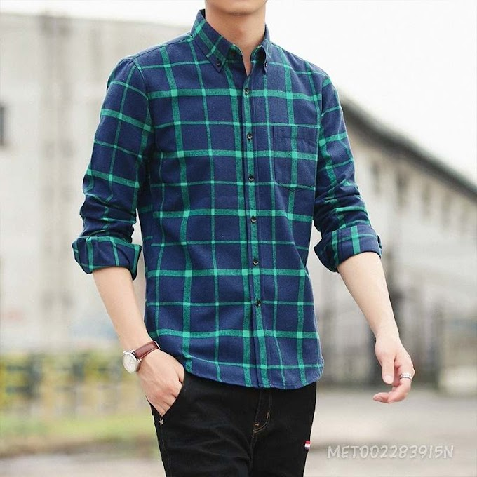 Loose Casual Shirt With Long Sleeves