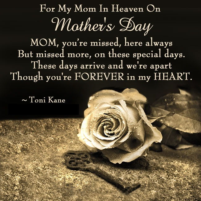 Mothers day quotes in heaven | Quotes Ring