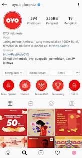 Instagram OYO