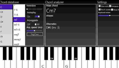 Aplikasi Piano PC
