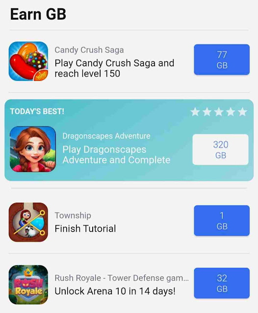Play Games And Gain Free Cloud Storage
