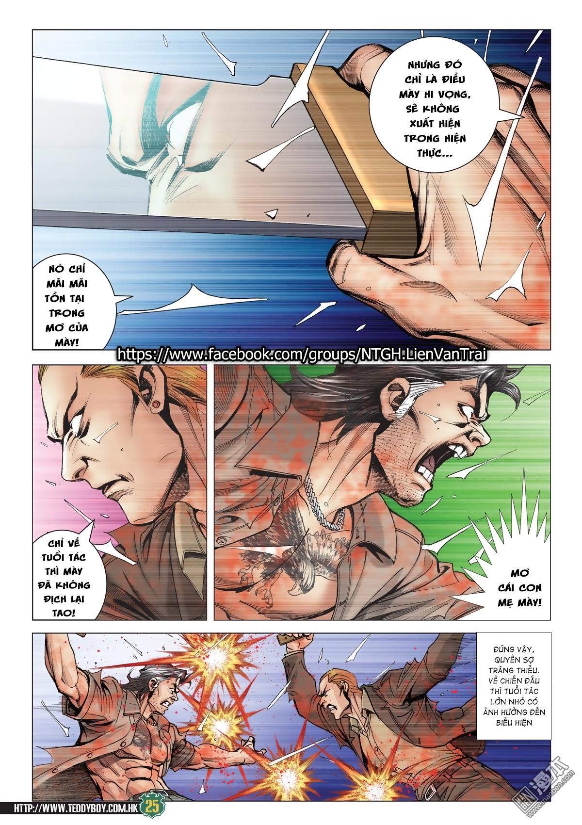 Người Trong Giang Hồ chapter 2033: kim tôn quý vs đại phi trang 22