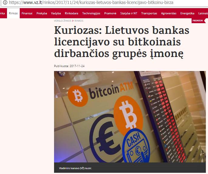 Bitkoinų investicijos padidėja