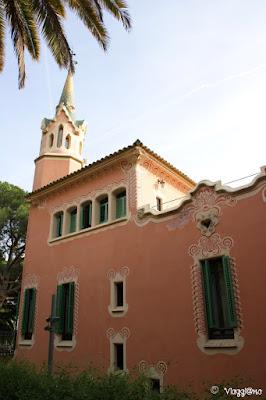 La Casa Museo del Gaudì nel complesso del Park Guell