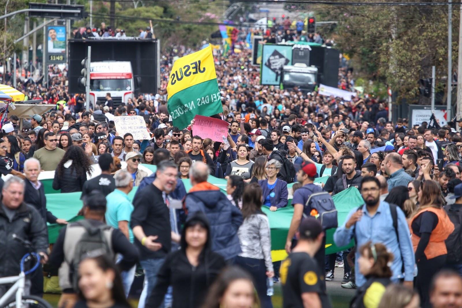 4ª Semana Cultural e Marcha para Jesus movimentam Curitiba