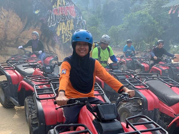 Syok layan ATV Adventure Park KL dekat Kemensah