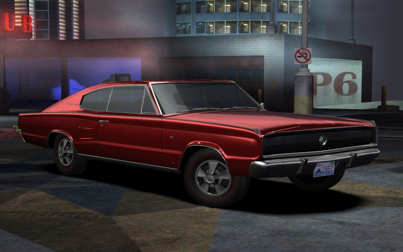 Second addon car for NFS:Carbon - 1967 Dodge Charger by