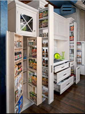 15 Desain Rak Dan Laci Dapur Minimalis Untuk Menyimpan Barang Yang Kreatif Dan Inovatif 8