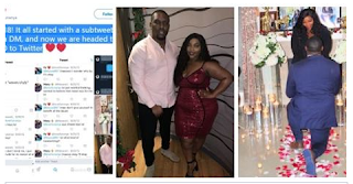 A Nigerian couple who met 6 years back on Twitter are set to wed
