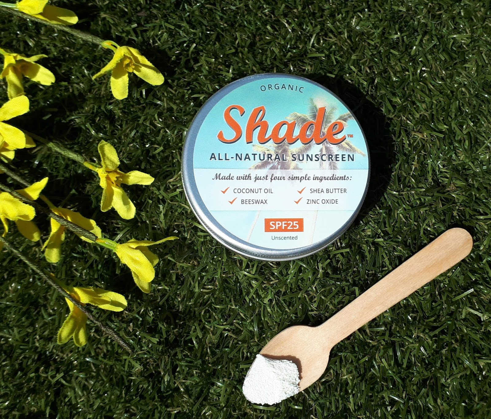 Plastic Free summer essentials - Shade sunscreen review
