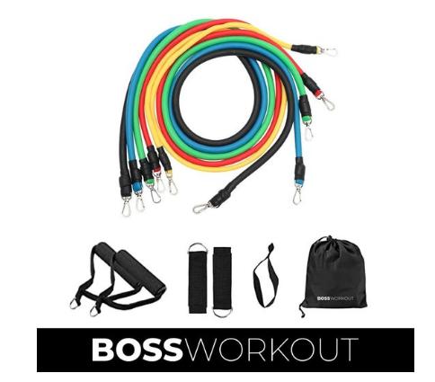 Boss work-outs weerstandselastieken