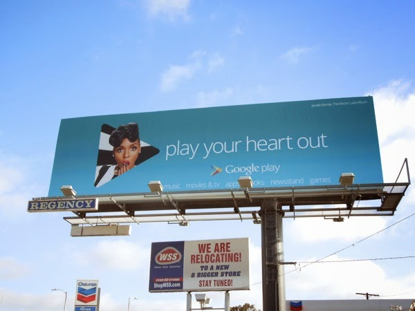 Janelle Monae Google Play music billboard