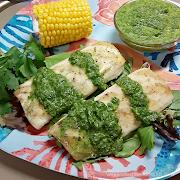 Grilled Mahi-Mahi with Mojo Sauce