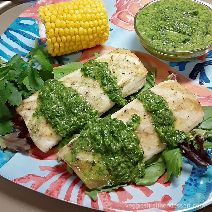 Grilled Mahi-Mahi with Mojo Sauce